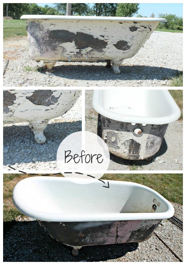 Repainting A Cast Iron Bathtub Ideas